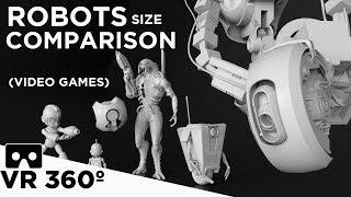 Robots Size Comparison VR 360 (Video games)