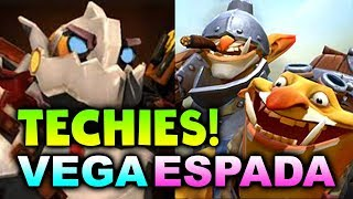TECHIES HYPE! - VEGA vs ESPADA - TI8 CIS QUALS DOTA 2