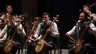 Хакасский Нац. оркестр  поздравляет тувинский. апрель 2018