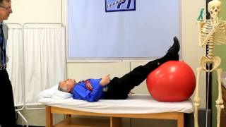 Spondylolisthesis (ADVANCED EXERCISES) for active people.