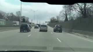 preview picture of video 'Driving Westbound on Highway 417 - Downtown Ottawa to Highway 416'