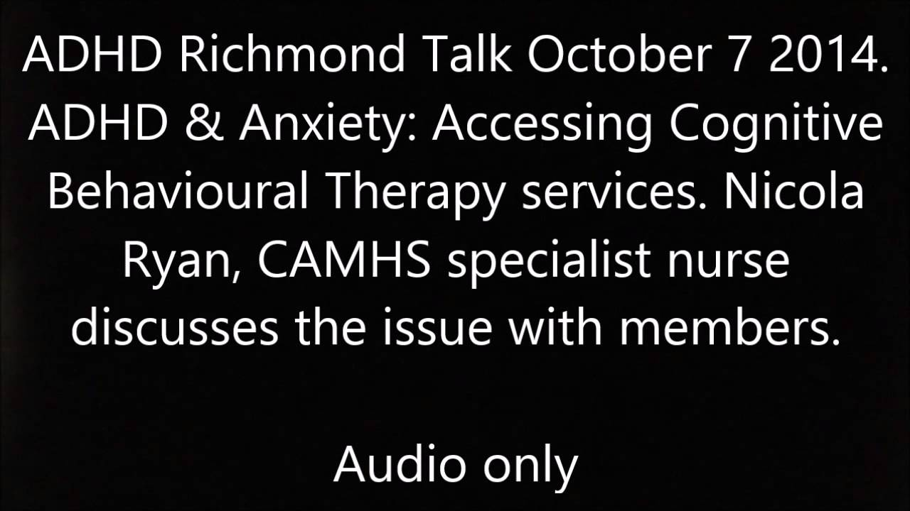 Audio ADHD and Anxiety