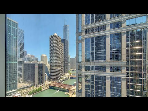 A river-view -10 one-bedroom at the Loop's lavish OneEleven tower