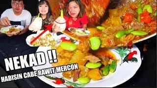 GADOIN CABAI RAWIT MERCON SAMPAI HABIS FT. ANAK KULINER DAN FARIDA NURHAN