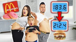 WHO CAN GAIN THE MOST WEIGHT IN 24 HOURS!?? *CHALLENGE*   The Royalty Family