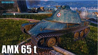 AMX 65 t МАСТЕР 🌟 медаль Рэдли Уолтерса 🌟 World of Tanks лучший бой на тт АМХ 65т