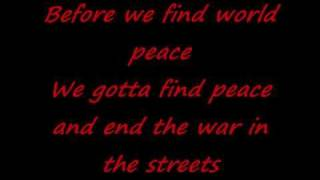 2Pac ft. Elton John Ghetto Gospel Lyrics
