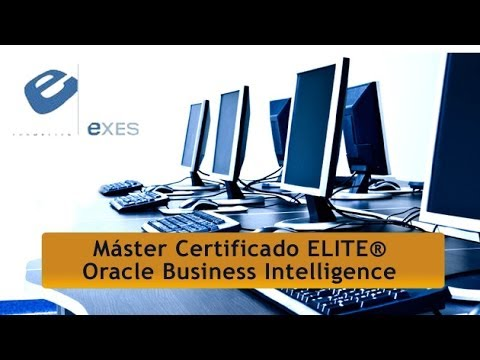 Master Certificado Élite® Oracle Business Intelligence de Master Certificado Élite® Oracle Business Intelligence en Exes Formación