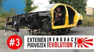 Lucky Boy - Renovace Evo 7 / Exteriér a podvozek #3