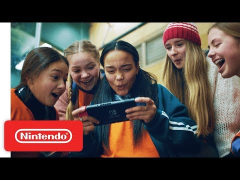 Nintendo Commercial for Nintendo Switch (2018) (Television Commercial)