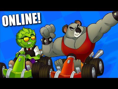 Crash Team Racing Online con Amigos | Koala Kong MAMADÍSIMO Destruye Amistades (Momentos Divertidos)