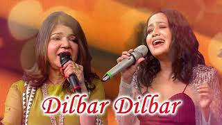 Dilbar Dilbar | Neha kakkar & Alka yagnik | Singing Superstar
