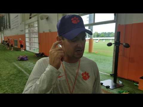TigerNet: Jeff Scott after practice - 8/10/17