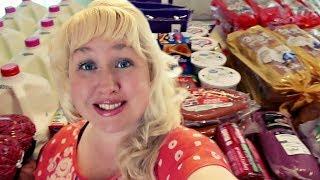 🛒BIG FAMILY GROCERY HAUL On A BUDGET | FREEZER MEALS 🎉| Walmart Grocery PickUp!