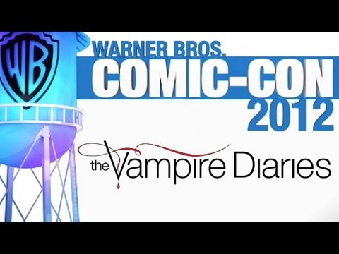 The Vampire Diaries - Season 4 - Comic-Con 2012 - Panel Video
