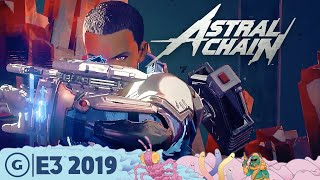 Astral Chain Live Gameplay Demo: The Wildest Action We've Seen | E3 2019