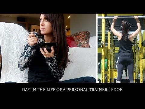 DAY IN THE LIFE OF A PERSONAL TRAINER | IIFYM FDOE