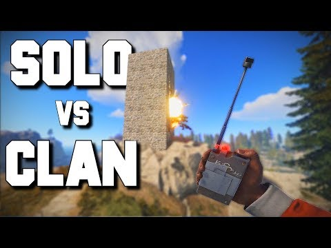 One player robs an entire clan blind by himself - Rust