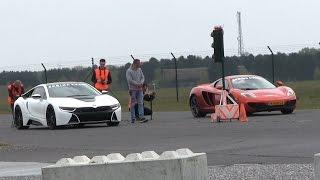 DRAGRACE | BMW i8 vs McLaren MP4-12C vs Ferrari Speciale Aperta vs Nissan GTR and more!