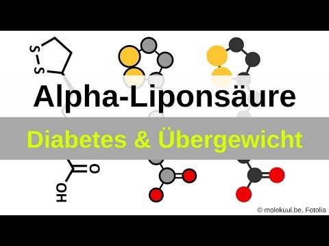 Alpha-Liponsäure zum Abnehmen und bei Diabetes (Polyneuropathie)