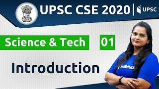 3:00 PM - UPSC CSE 2020 | Science & Tech by Samridhi Ma'am | Introduction