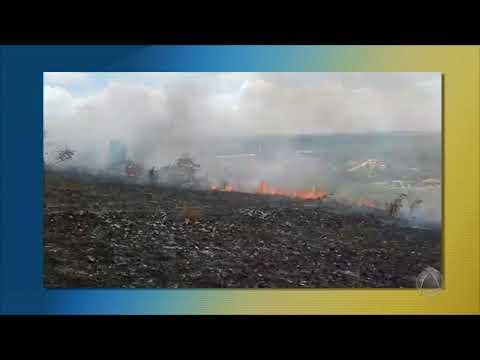 Incêndio em serra no município de Areia Branca já foi controlado - JE