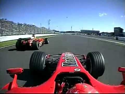 M SCHUMACHER SUZUKA 2006 LONG RACE ONBOARD