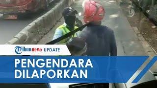 Viral Video Pengendara Motor Marah-marah kepada Petugas Jalur Busway, TransJakarta: Sudah Dilaporkan