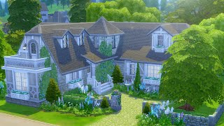 Building an English Cottage in The Sims 4 (Streamed 5/7/19)