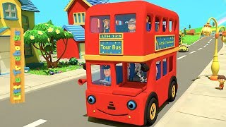 Wheels on the Bus | Best Kindergarten Nursery Rhymes Songs for Kids | Baby Music by Little Treehouse