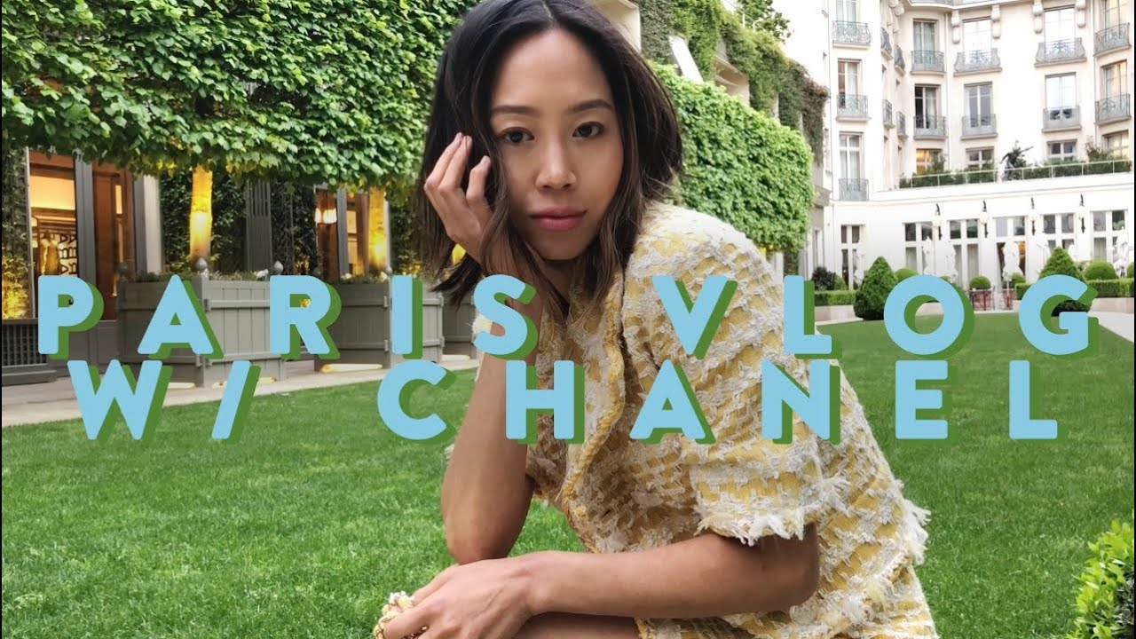 Paris Vlog  - Chanel Cruise Show, Flea Market, My Favorite Restaurants - Vlog#59 | Aimee Song