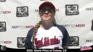 2022 Alexis Price Athletic Shortstop Softball Skills Video - Yardsharks