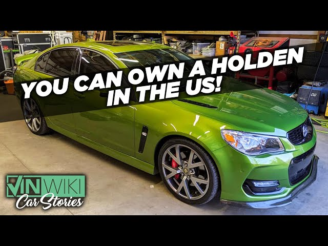Here's how you can own a Holden Commodore in the US