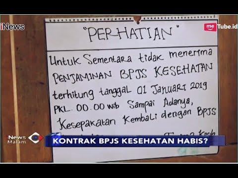 Sejumlah Rumah Sakit Hentikan Layanan BPJS, Pasien Kebingungan - iNews Malam 05/01
