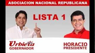 preview picture of video 'Spot Publicitario 2 (canción): Luis Urbieta - Horacio Cartes'