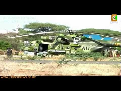 Ugandan Military Choppers Crash in Kenya