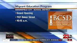 BCSD opens new location for Migrant Education Program