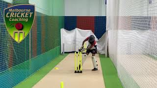 Correct Leg movements for wicket keeping