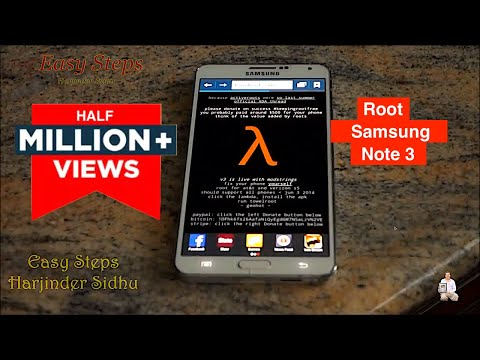 How To Root Samsung Galaxy Note 3 Without Computer | Root With Towelroot Mp3