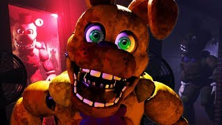 FREDBEAR AND SPRING BONNIE ATTACK | Final Nights 4 (FREE ROAM Five Nights At Freddys)