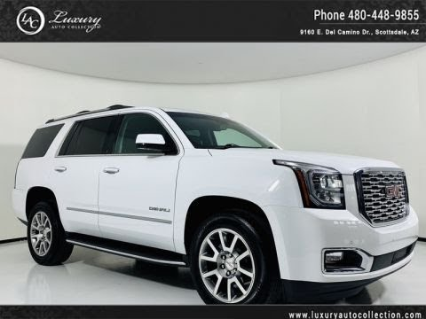Pre-Owned 2018 GMC Yukon 4WD Denali 1-Owner SUV