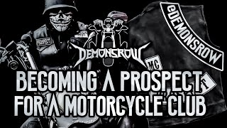 Becoming a Prospect For A Motorcycle Club
