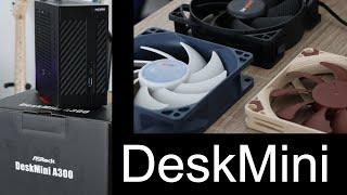 ASRock DeskMini - Welcher Lüfter für den Noctua NH-L9a-AM4?