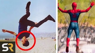 10 Superhero Actors Who Can Do Superhero Things!