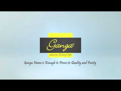 Ganga luxurious bath fittings on Youtube