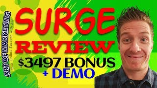 Surge Review, Demo, $3497 Bonus, Surge by Billy Darr Review