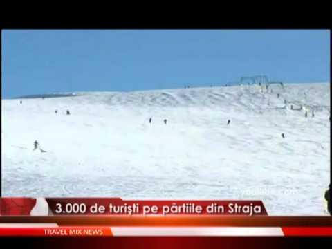 3.000 de turişti pe pârtiile din Straja