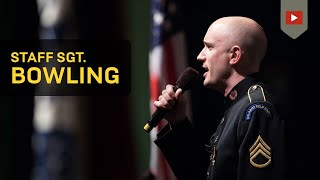 The Star-Spangled Banner- SSG Ian Bowling