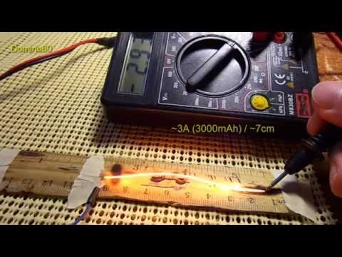 NiChrome wire Amps test