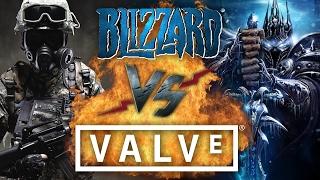 Рэп Баттл - Valve vs. Blizzard